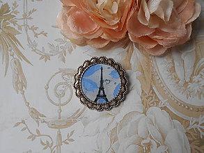 Odznaky/Brošne - Blue Paris - 9619420_