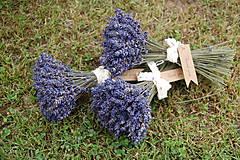 - Levanduľová kytička od včielok - Ďakujem  - 9620229_