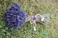 - Levanduľová kytička od včielok  - 9620254_
