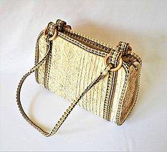 Kabelky - Pletená kabelka s pevnými popruhmi na rameno - 9619262_