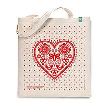 Nákupné tašky - Taška Májofka Červená - 9618864_