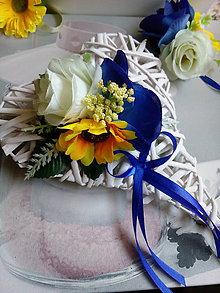 Dekorácie - Dekorácia srdiečko - 9620558_