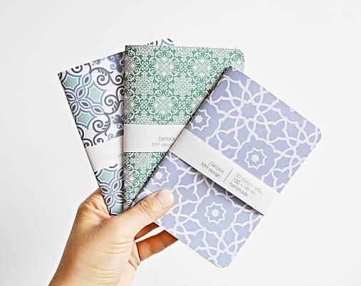 Papiernictvo - 3 zápisníky - Maroko I - 9622461_