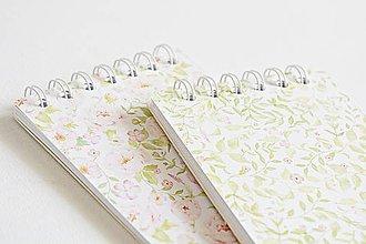 Papiernictvo - Kvetinové zápisníky - 9622408_