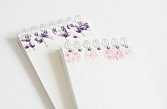 Papiernictvo - Zápisníky s washi páskou - 9622447_