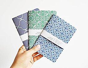 Papiernictvo - 3 zápisníky - Maroko II - 9622456_