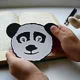Papiernictvo - Panda do knižky... - 9621245_