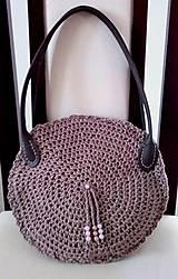 Kabelky - háčkovaná taška - 9621834_