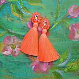 Náušnice - Classic Long Tassels n.3  - sutaškové náušnice - 9620627_