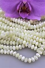 - perleť korálky - disky 5x8mm - AA kvalita - 9622898_