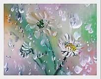 Obrazy - Šepotanie s dažďom - 9621976_