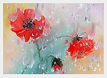 Obrazy - Šepotanie s dažďom - 9621979_