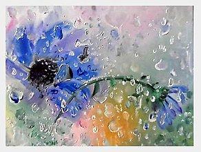 Obrazy - Šepotanie s dažďom - 9621980_