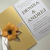 Papiernictvo - Svadobné oznámenie - 9621104_