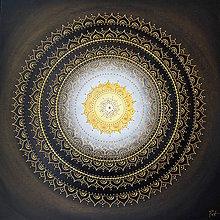 Obrazy - KVET ŠŤASTIA BIELO-ŽLTÝ 60 x 60 - 9622079_