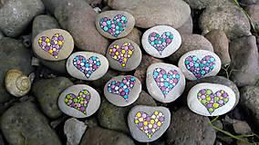 Dekorácie - Trochu bucľatý raj - Na kameni maľované - 9623126_