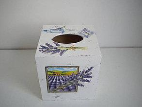 Krabičky - Krabička na vreckovky - 9622296_