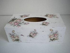 Krabičky - Krabička na vreckovky - 9622352_