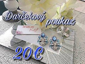 Darčekové poukážky - Darčekový poukaz - 9622763_