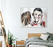 Obrazy - Veľkoformátový portrét na objednávku - 9620897_
