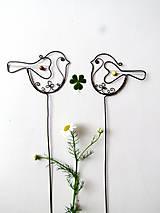 Dekorácie - vtáčik - 9621643_