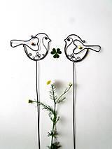 Dekorácie - vtáčik - 9621644_