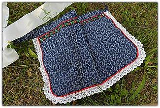 Úžitkový textil - Zástera pre nevestu -čepčenie - 9626459_