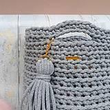 Na notebook - LOVE bag - grey&gold - 9624101_