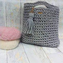 Na notebook - LOVE bag - grey&gold - 9624099_