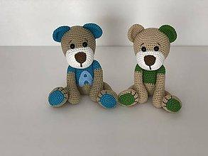 Hračky - Háčkovaní karamáti mackovia / Crochet Teddy friends - 9623896_