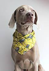 Pre zvieratká - Frank - Obojstranná šatka pre psíkov - 9626513_
