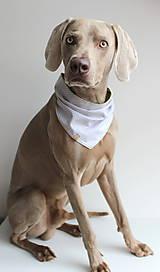 Pre zvieratká - Frank - Obojstranná šatka pre psíkov - 9626543_