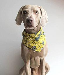 Pre zvieratká - Frank - Obojstranná šatka pre psíkov - 9626505_