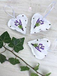 Darčeky pre svadobčanov - Srdiečka levanduľa - 9625161_