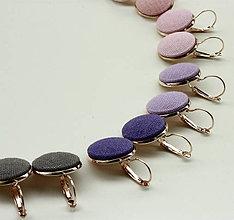Náušnice - Náušnice na francúzskych háčikoch Ľanové - mnoho farieb na vyber - 9625190_
