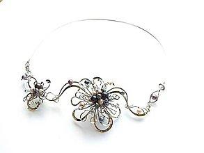 """Náhrdelníky - Náhrdelník """"Půlnoční sen"""", 34 ks perel exkluziv - 9624864_"""