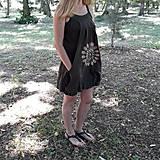 Šaty - Batikované bavlnené šaty Mandala - 9625858_