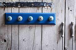 - Věšák velký - modrý - 9623245_