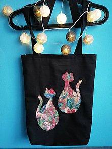Nákupné tašky - Kvetované - 9623899_