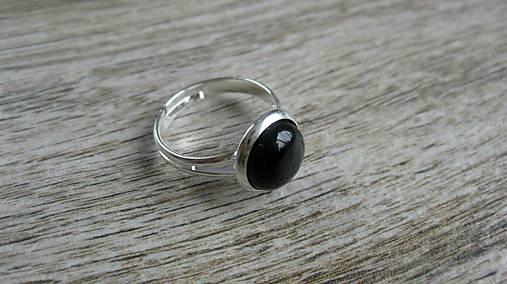 Minerál - prsteň (čierny achát č. 2210)   TARRA - SAShE.sk ... 87be8469f7