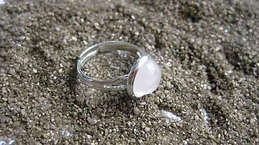 Minerál - prsteň (ruženín č. 2212)   TARRA - SAShE.sk - Handmade Prstene 039929c44d
