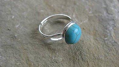 Prstene - Minerál - prsteň (tyrkenit č. 2208) - 9625963_