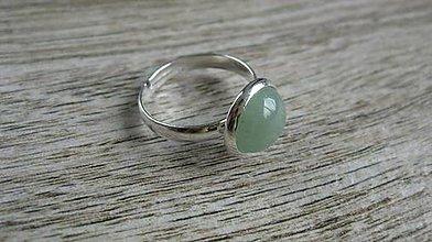 Prstene - Minerál - prsteň (aventurín č. 2209) - 9625984_