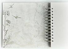 Papiernictvo - Album,kniha hostí,album k promócii,fotoalbum,kniha prianí-Elegancia - 9626675_