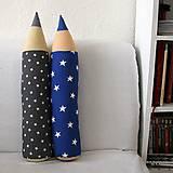 Úžitkový textil - Ceruzky HVIEZDY - skladom na poslednú chvíľu - 9625322_