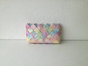 Peňaženky - pastelová peňaženka - 9626320_
