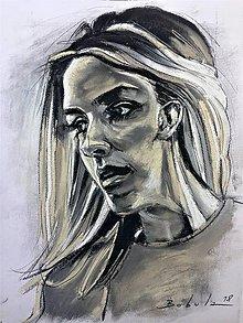 Obrazy - portrety - 9627992_