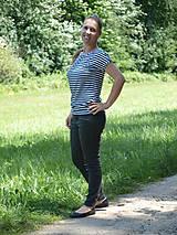 Tričká - Voľné tričko s krátkym rukávom - 9628598_