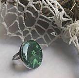 Prstene - prstienok slniečko zelený - 9627214_