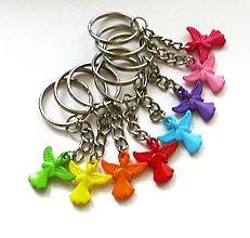 Kľúčenky - Kľúčenky detské - anjelik - 9629544_